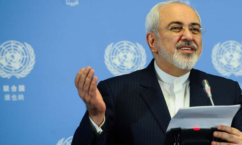 Iran Foreign Minister Mohammad Javad Zarif.