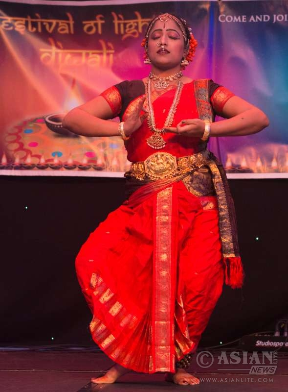 Deep Viswamohan, Kuchipudi dancer