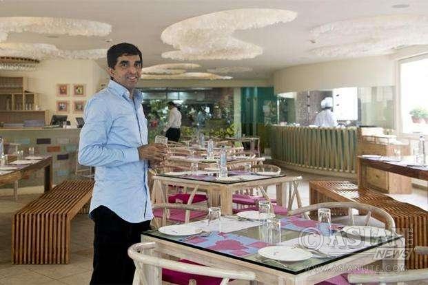 Das Sreedharan at his Rasa restaurant in London