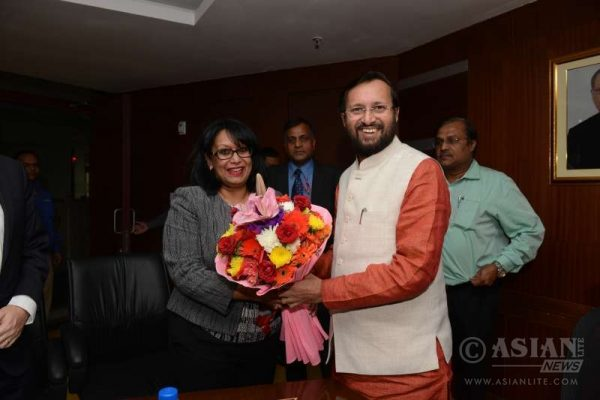 Baroness Sandip Verma attending an event in India (File)