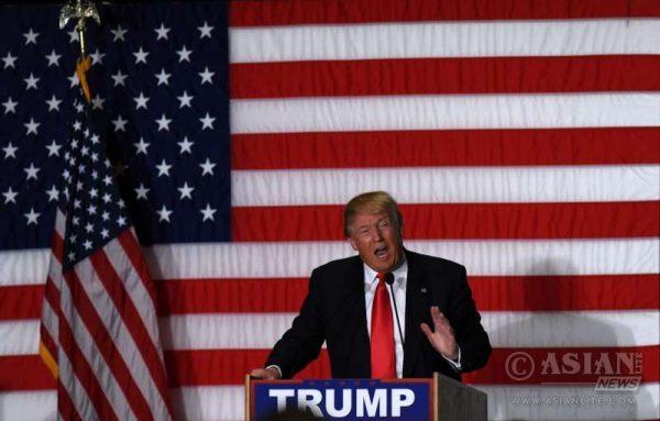 American Republican Party Presidential ticket hopeful Donald Trump