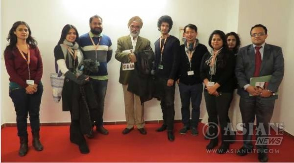 Ambassador Gurjit Singh with Prominent Members of the Indian Film Industry