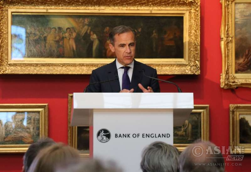 Bank of England Governor Mark Carney at the V&A museum in London, announcing the theme for the next £20 pound note (File)