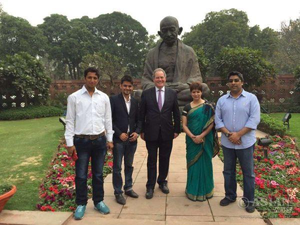 Bob Blackman, MP from Harrow East, visits India