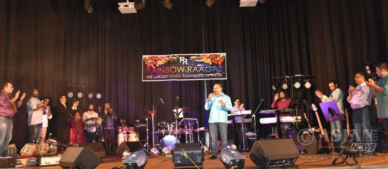 Rainbow Ragas charity event at Stock Port in Greater Manchester