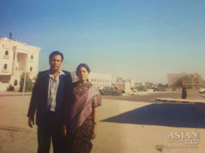 Parents of Sohini Sengupta in Kuwait