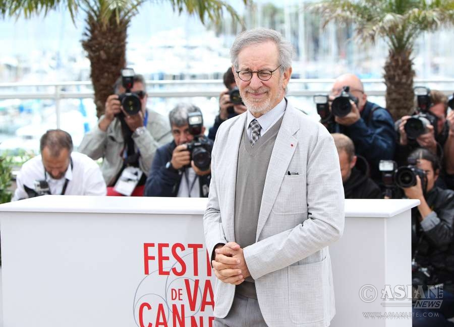 U.S. director Steven Spielberg at Cannes (File)