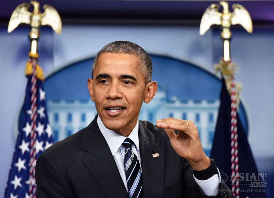 U.S. President Barack Obama speaks about the economy during a news conference in the Brady Press Briefing Room of the White House in Washington D.C., the United States (File)