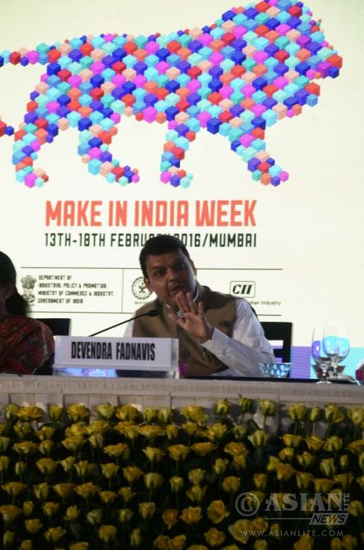 Prime Minister Narendra Modi launches Make in India Week in Mumbai