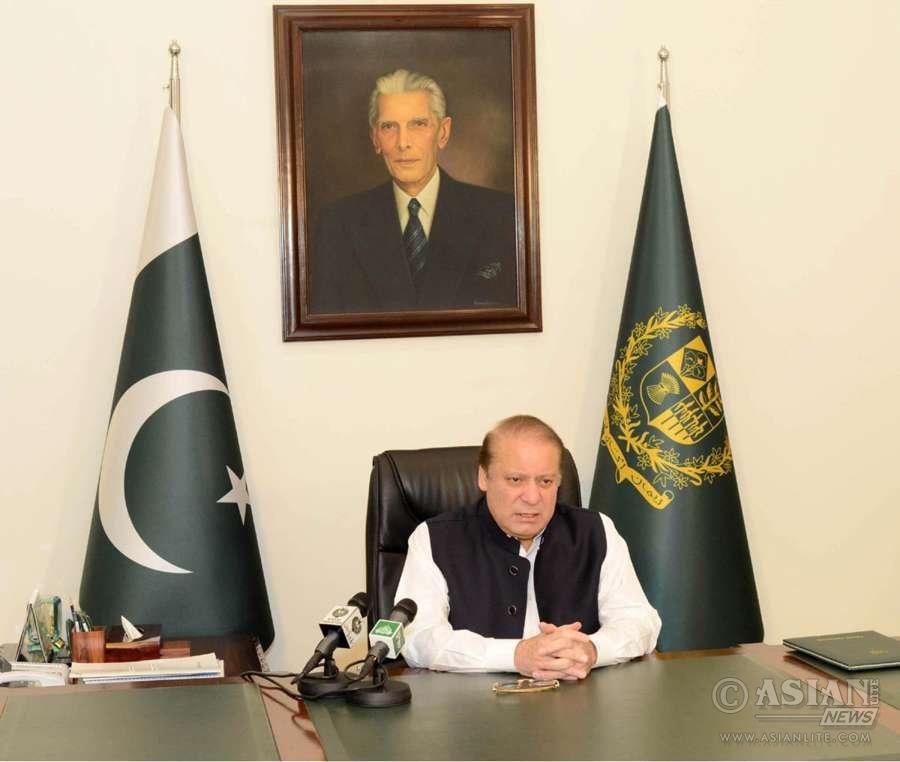 Pakistani Prime Minister Nawaz Sharif (File)