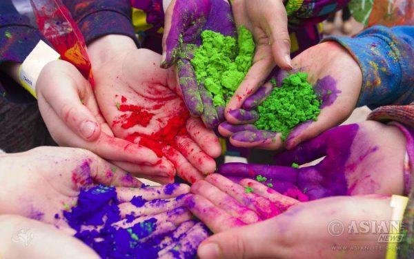Magic of India's Holi Celebration in London