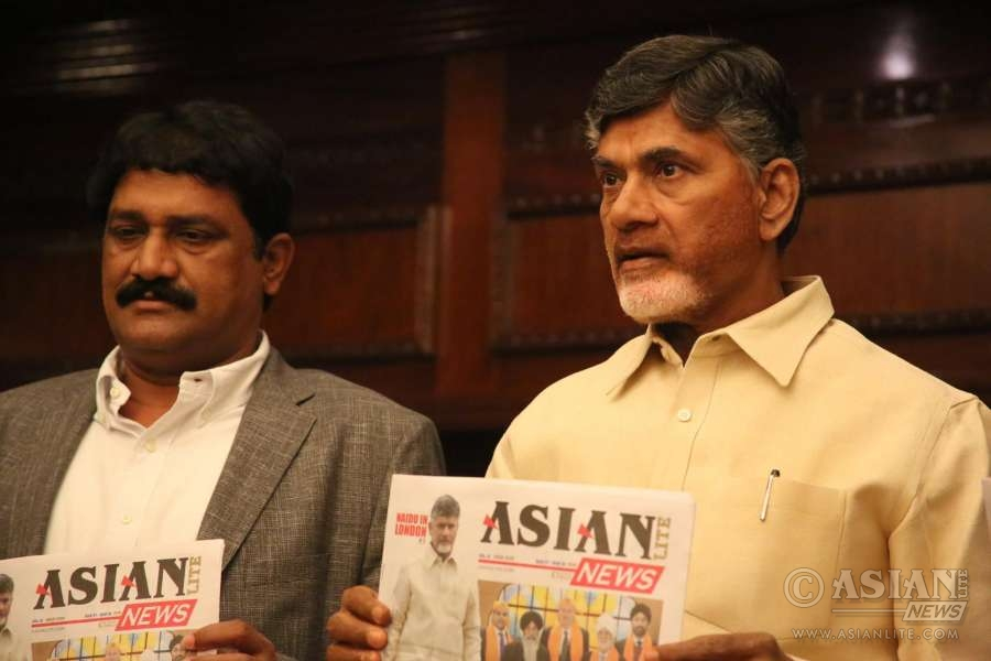 Naidu with Asian Lite