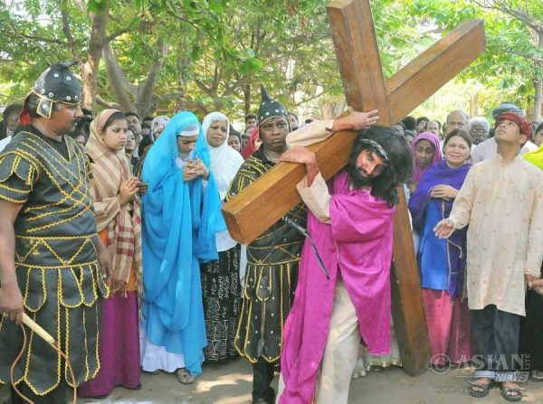 Good Friday images from India