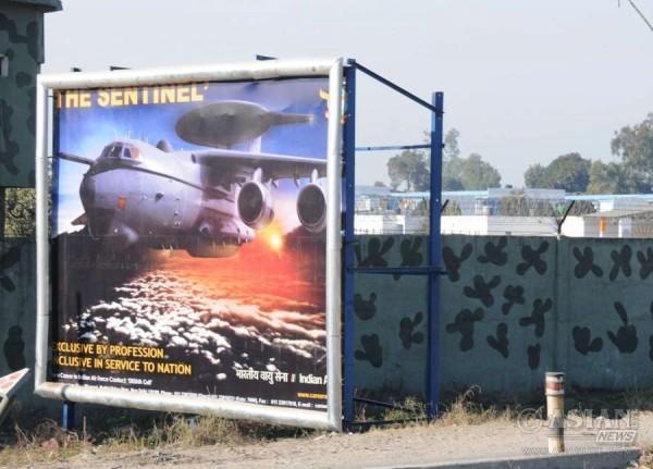 Indian Air Force base at Pathankot
