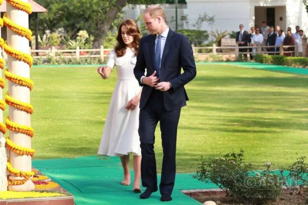 Prince William and Kate Middleton in New Delhi