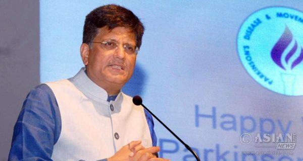 Union Minister of State (Independent Charge) for Power, Coal and New and Renewable Energy and BJP leader Piyush Goyal.