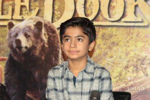 Hollywood actor Neel Sethi Starring in The Jungle Book PIC: IANS