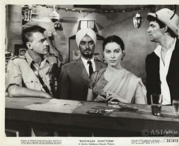 A scene from the film adaption of John Masters' Bhowani Junction