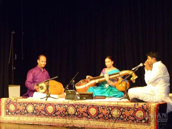 Balachandar aka on Mridangam and on Morsing by Tanujen