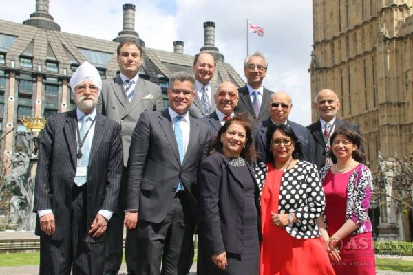 British Indian Parlaimentarian at Westminster supporting the IN campaign