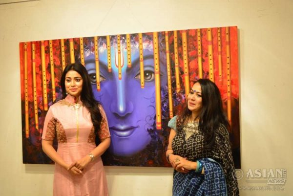 Shriya Saran and Rakhi Baid