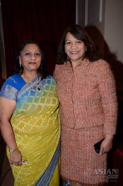 Manju Lodha with Valerie Vaz MP