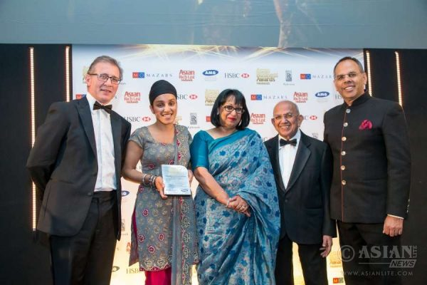 Imandeep Kaur of the Impact Hub - winner of Businesswoman of the Year at this year's Asian Business Awards Midlands