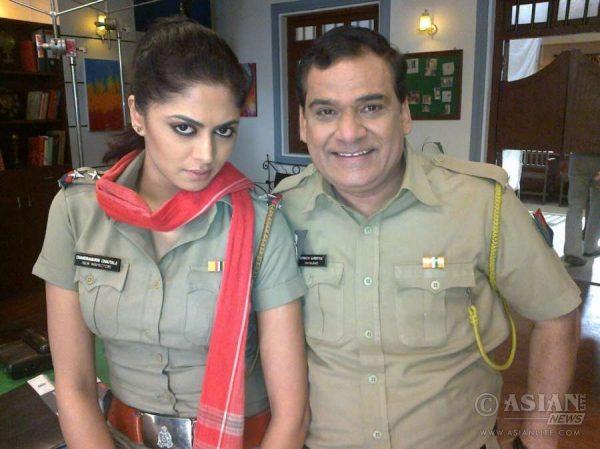 Kavita Kaushik with Gopi bhalla