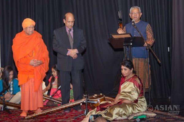 Nandaji with Shambhu Gupta and Punita Gupta
