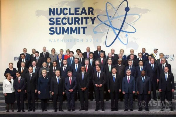 Cameron, Modi and other world leaders at the fourth  Nuclear Security Summit 2016, in Washington DC