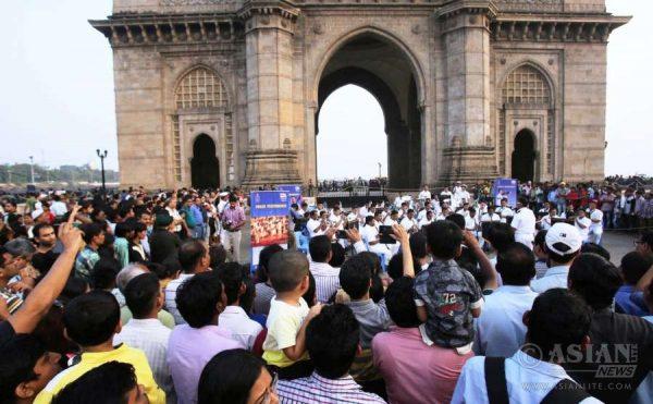 Mumbai: Gateway of India in Mumbai. (Photo: IANS)