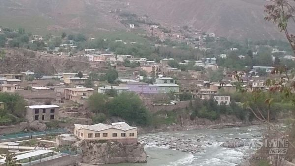 Photo taken on April 10, 2016 shows the view of Badakhshan city, north of Afghanistan, after an earthquake. An earthquake with a magnitude of 6.6 on the Richter scale jolted parts of Afghanistan, Pakistan and India, killing two and injuring 10 in Pakistan on Sunday