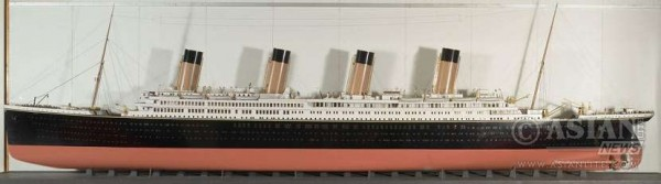 titanic-olympic-ship-model