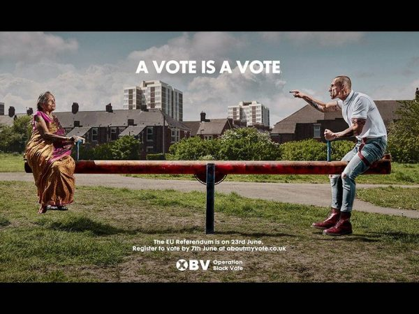 EU Vote - Operation Black Vote