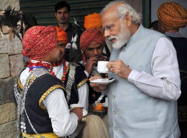 Prime Minister, Shri Narendra Modi visit to Heritage Village, in Meghalaya 2