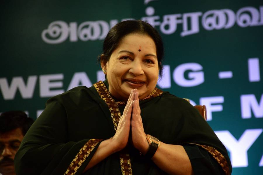 Tamil Nadu Chief Minister Jayalalitha