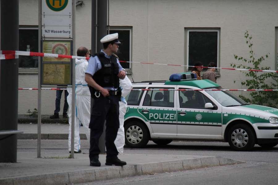 German police on alert in Munich