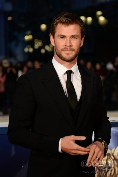 Actor Chris Hemsworth