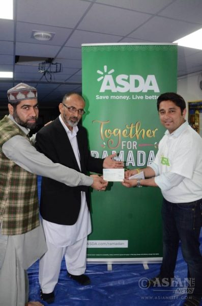Asda joins iftari at Birmingham central mosque