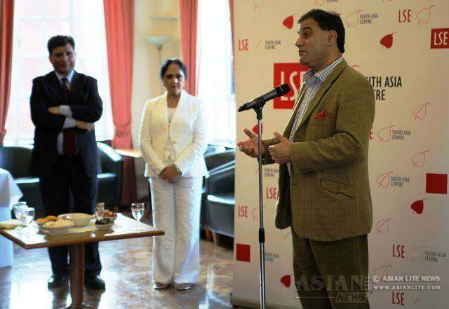Lord Bilimoria at DHC Farewell