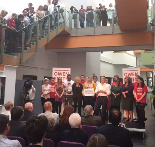 Owen Smith launches the campaign