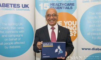 Sharma Seeks Better Diabetes Care