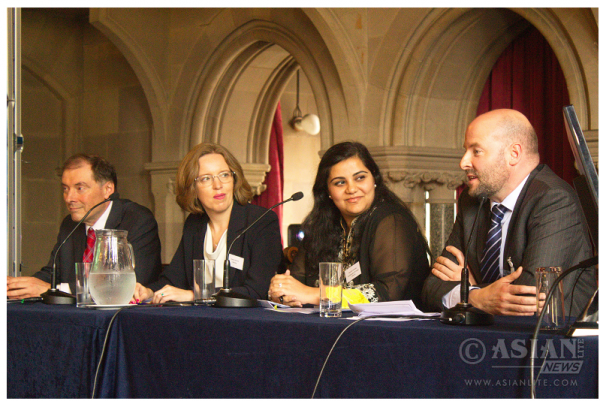 Lto R panel Prof Luke Georghiou_Jo Ahmed, Shuchita Sonalika_Nigel Mellors