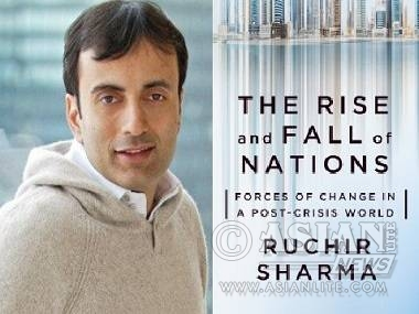 Ruchir Sharma and his The Rise And Fall Of Nations: 10 Rules Of Change In The Post-Crisis World