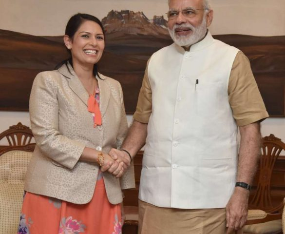 Priti lauds Modi's demonetisation