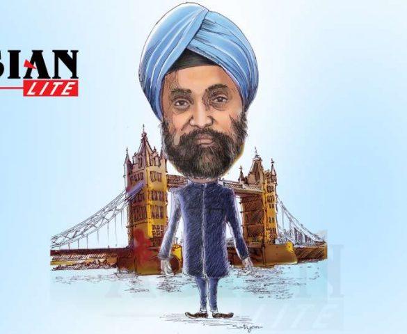 UK's Loss is US's Gain - Sarna Going to Washington
