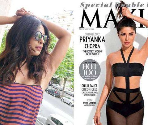 How to pose like Priyanka?