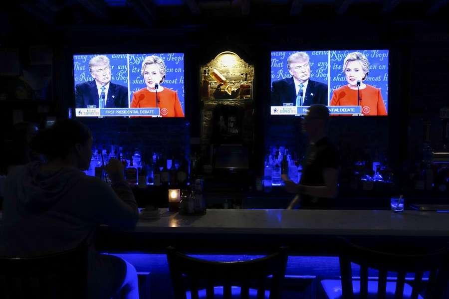 Us presidential debate - US polls