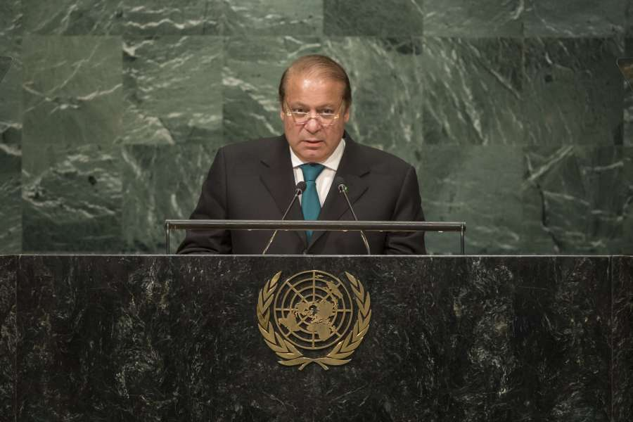 Pakistani Prime Minister Nawaz Sharif's address at the UN General Assembly