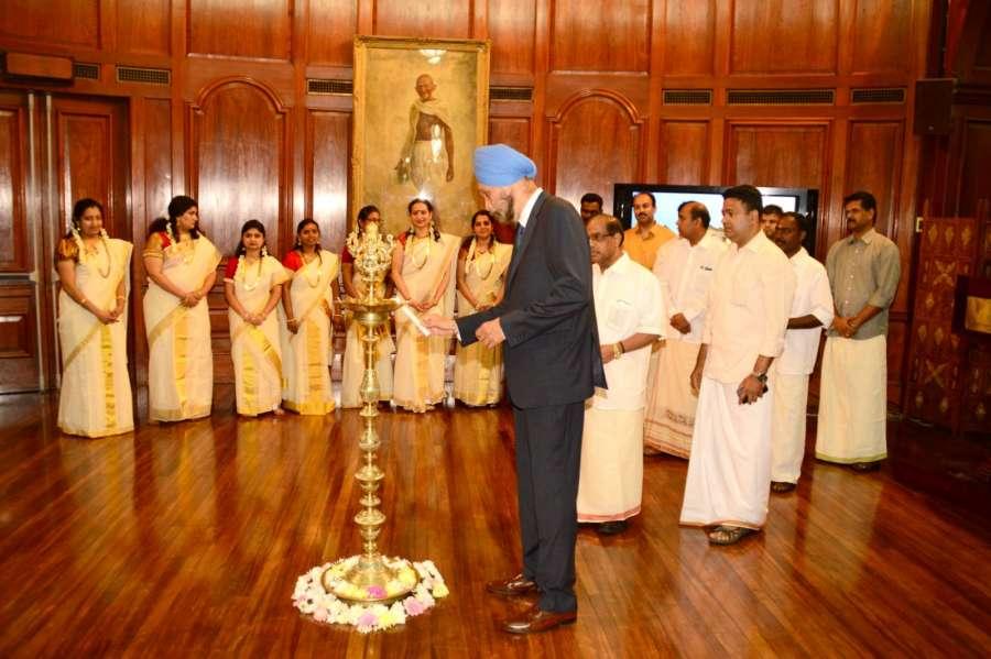High Commissioner Navtej Singh Sarna inaugurates Onam Celebrations at India House in London